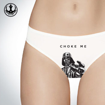 Choke me Darth Vader Star Wars Underwear - Panties