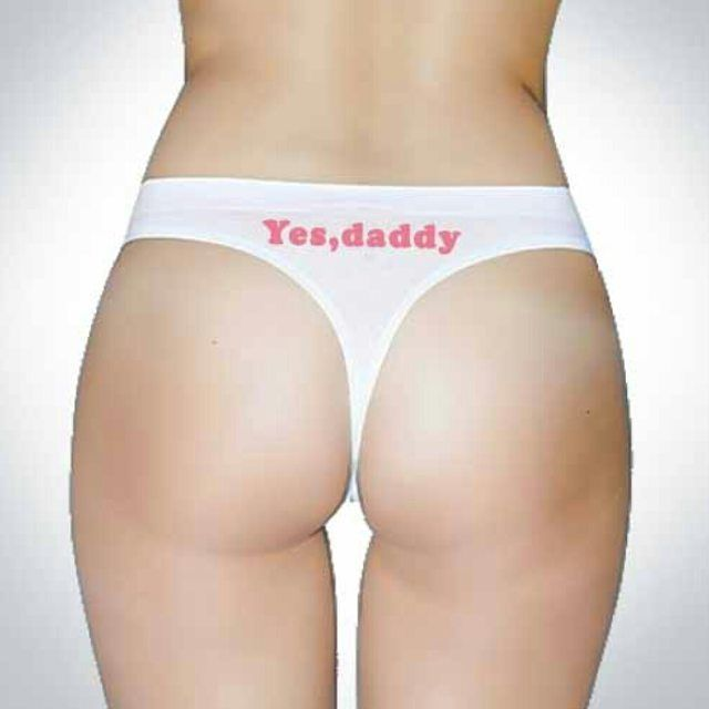 Daddy Lingerie - Yes Daddy Thongs