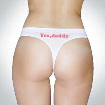 Yes Daddy Thongs - Strings - Seamless Underwear