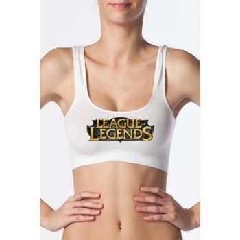 League of Legends Bra- Seamless Bra - Stretch Tank Top Underwear
