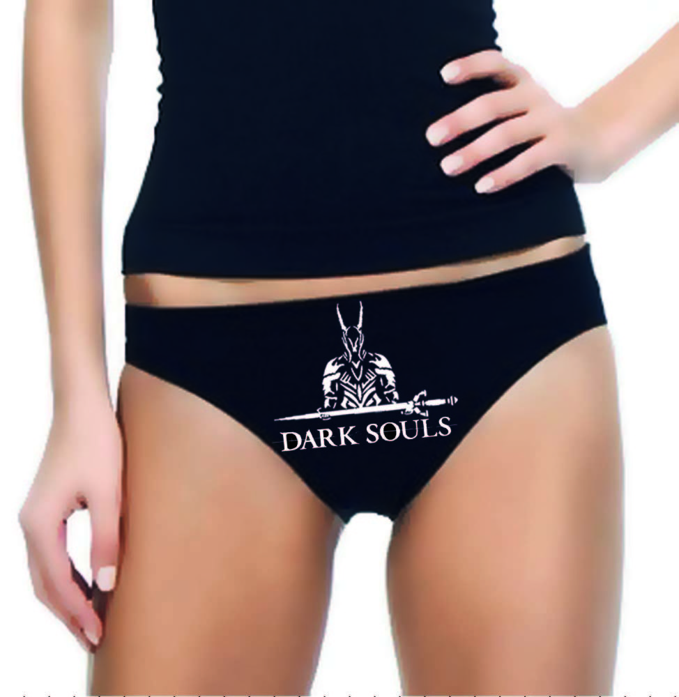 Dark Souls Gamer Panties - Underwear - Undergarment