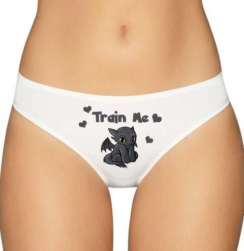 Toothless Dragon Panties Underwear Lingerie