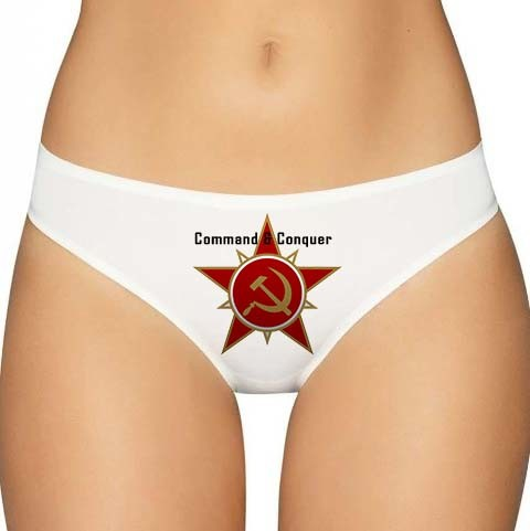 Red Alert Panties - Command and Conquer