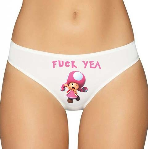 Mario Toadette Panties