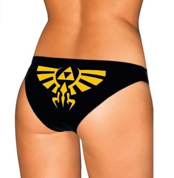 Zelda Crest Panties - The Legend of Zelda Underwear - Triforce Lingerie
