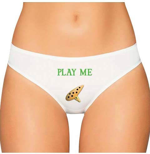 zelda panties ocarina of time