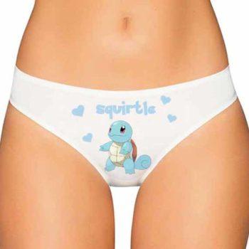Squirtle Panties - Pokemon Panties - Pokemon Underwear
