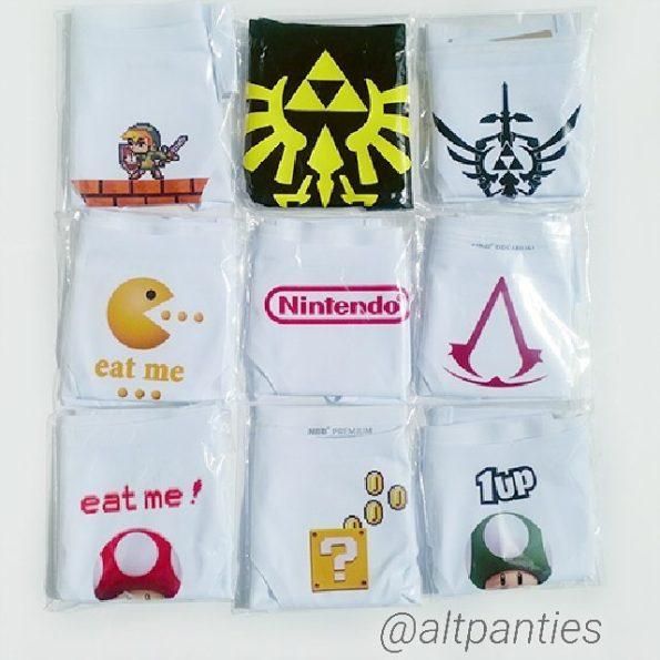 Zelda Underwear , Gamer Girl Lingerie by Altpanties