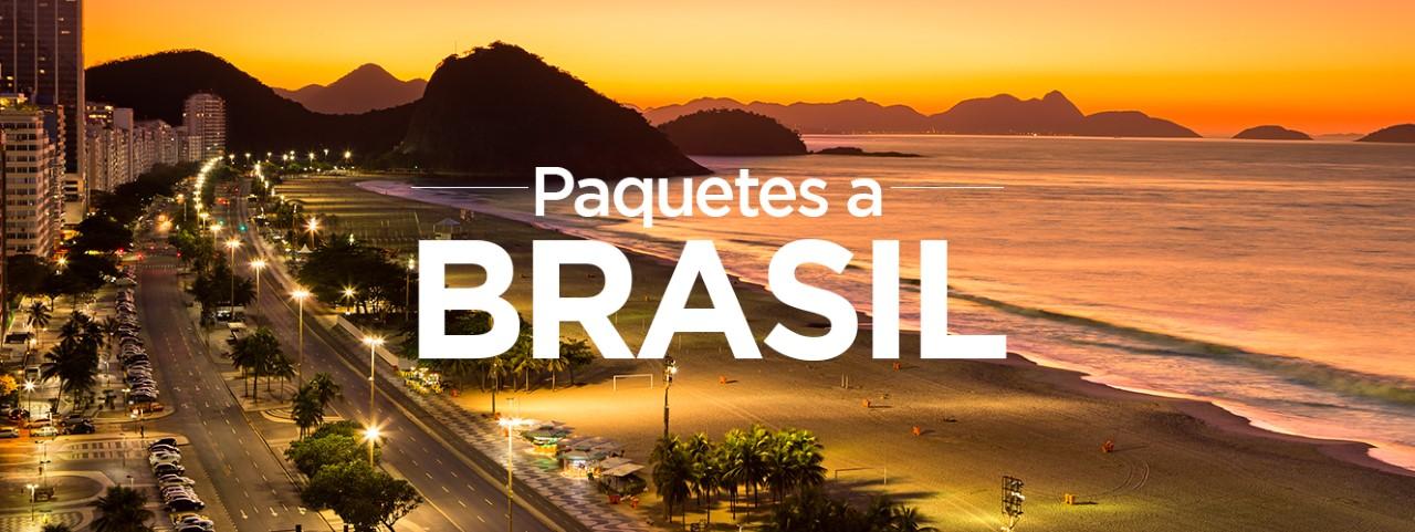Paquetes turísticos a Brasil