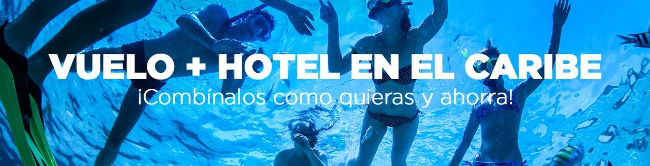 Vuelo + Hotel al Caribe desde Colombia