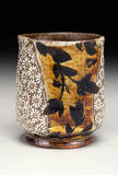 Small kline michael cl painted inlaid cup bio