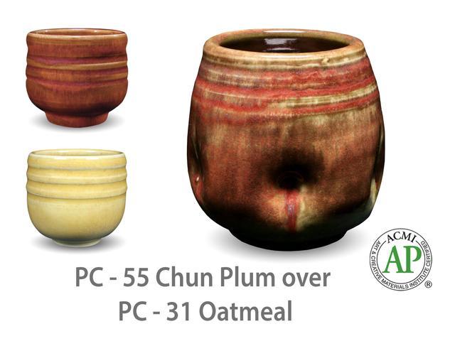 Medium pc55 over pc31 cup layering 2048