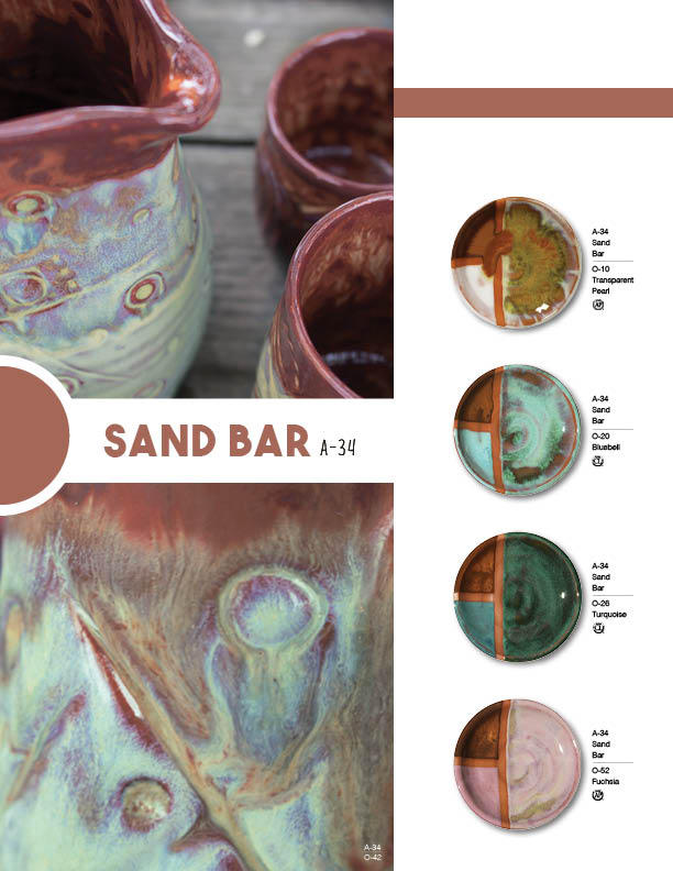 Standard Low Fire Clay : O opalescent low fire glazes amaco brent