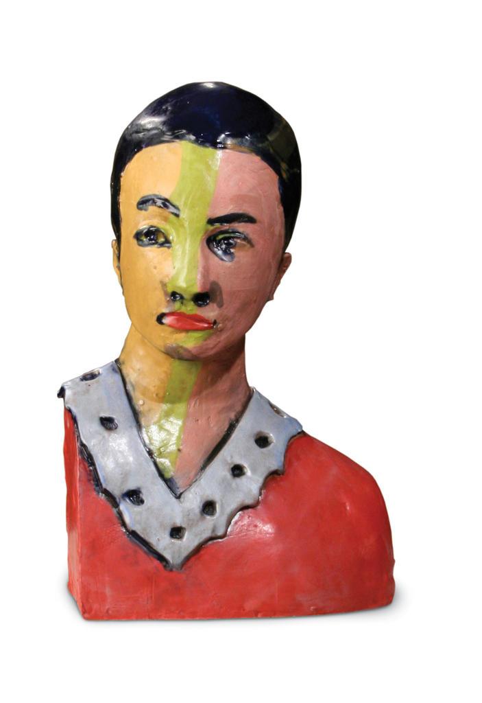 Large bust 29 cara glazed