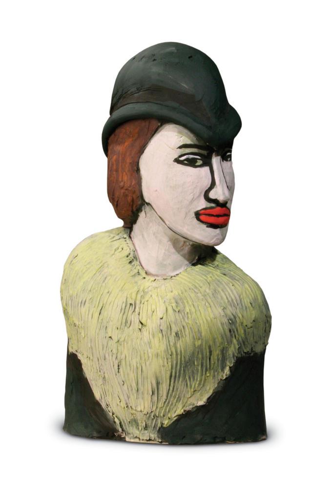 Large bust 25 cara glazed