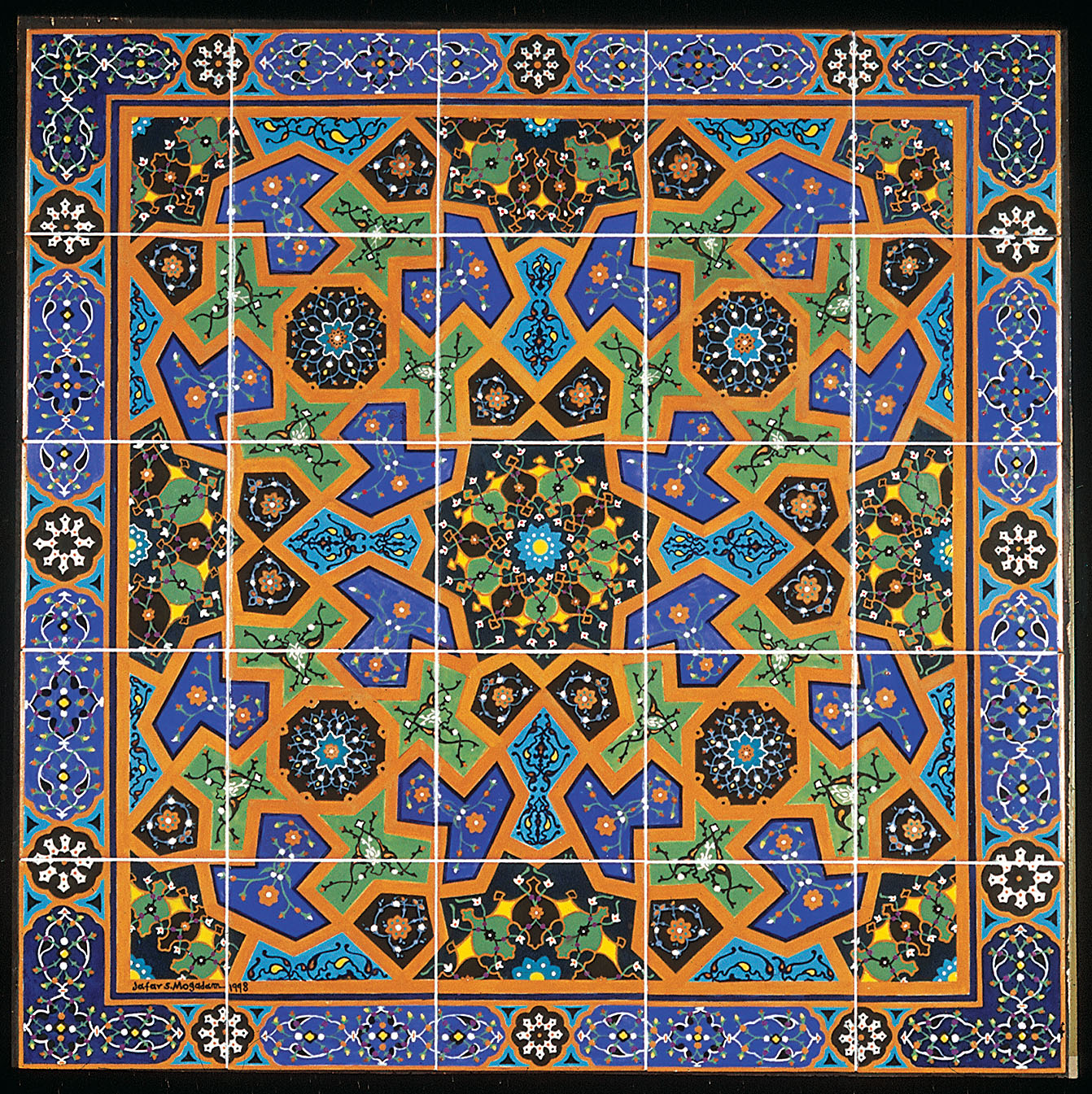 Persian Tiles Amaco Brent