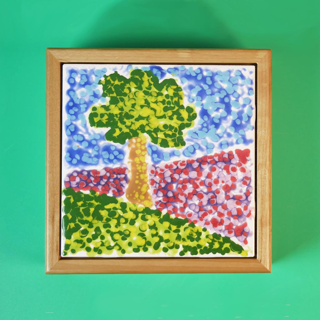 Pointillism With Pizazz Using Teacher S Palette Glazes