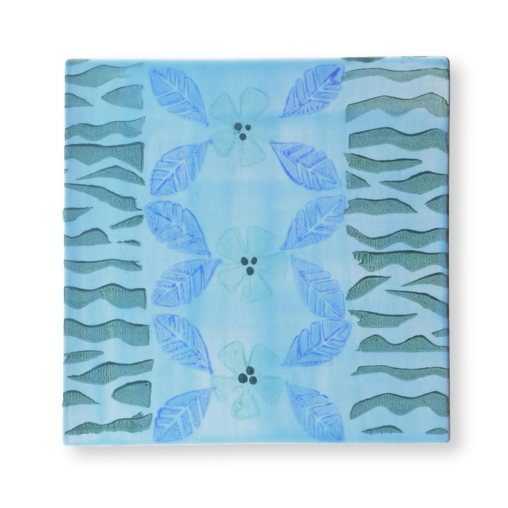 Large diyunderglazestamps tile