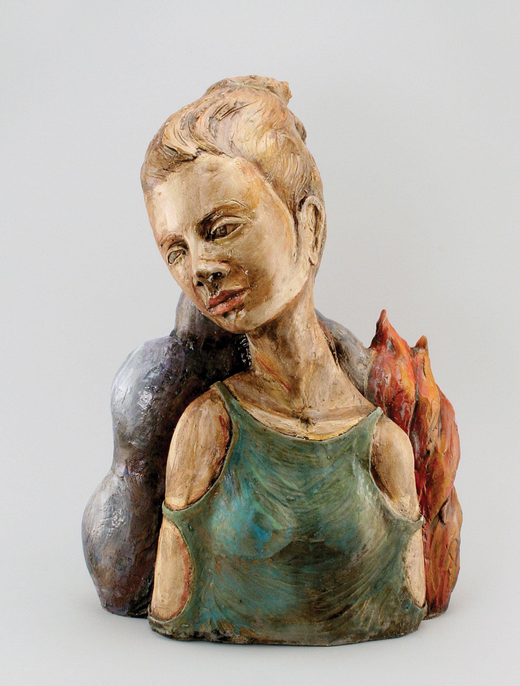 Self-Portrait as Famous Artist   AMACO Brent