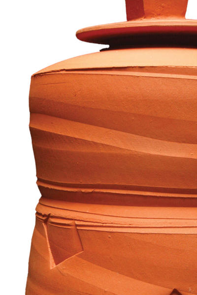 No67 clay jar cutout