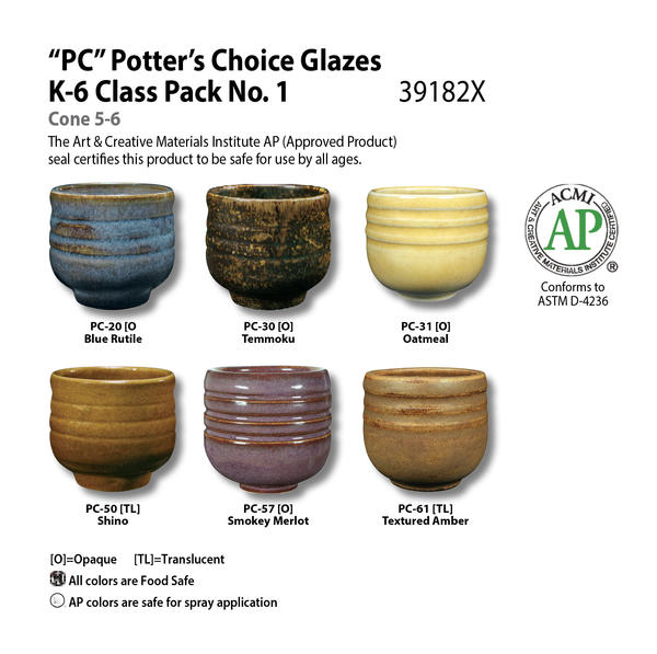Potters choice chart class pack no1 39182x