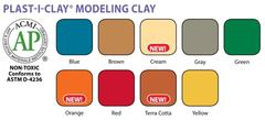 Modeling Clay > Plast-i-clay Orange