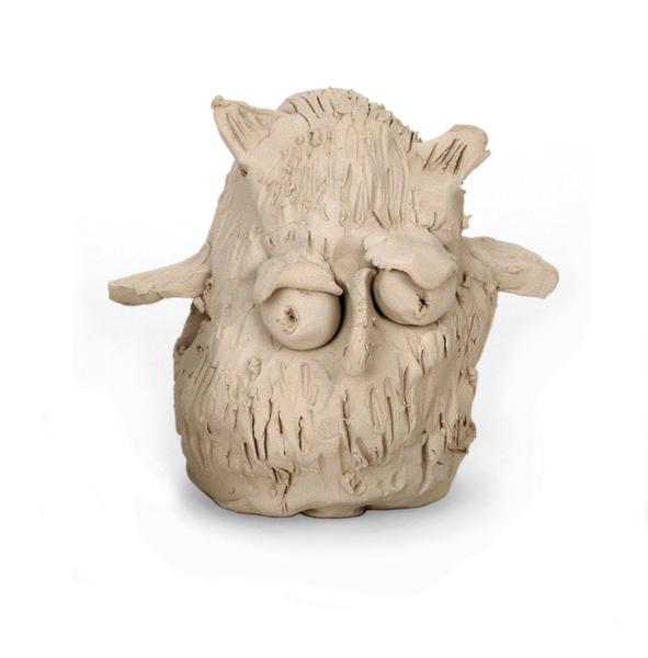 Magic mud owl