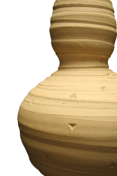 No46 clay jar cutout
