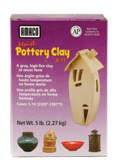 Mid/High Fire Clays > X-11 Amaco Moist Pottery Clay (X-12, X-15)
