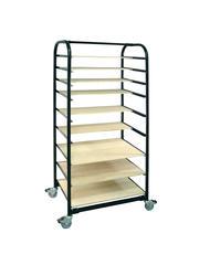 Carts & Ceramic Furniture > Ware Cart  - Plastic Cover