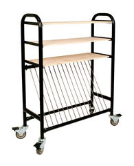 Carts & Ceramic Furniture > Brent Kiln Shelf Cart