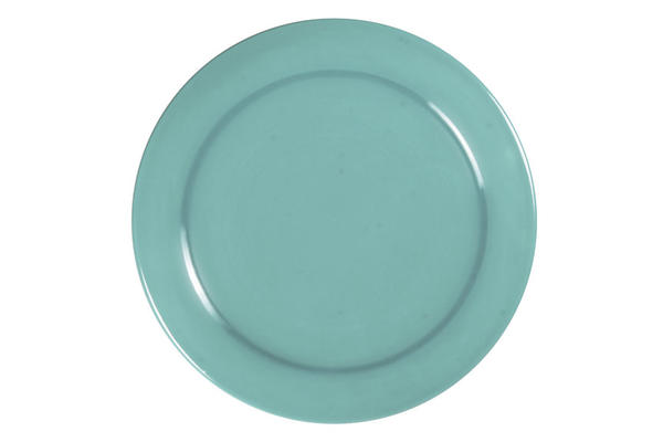 Hf 125 turquoise round plate sized
