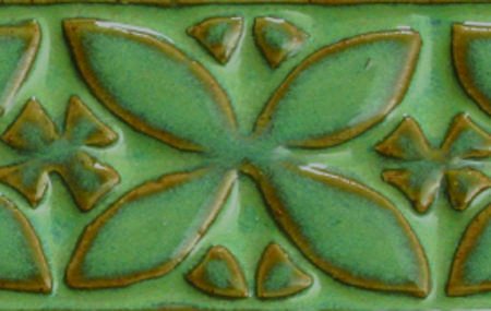Pc 25 textured turquoise 1*5 textured tile
