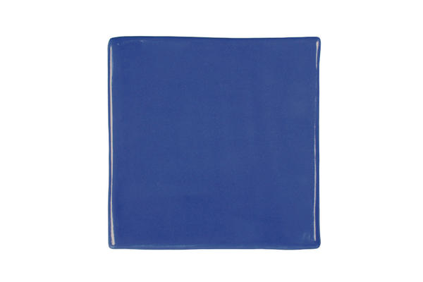 Hf 127 china blue square plate sized