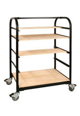 Carts & Ceramic Furniture > Shelves for Compact Ware Cart