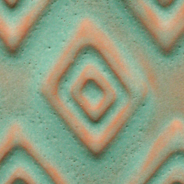 A 22 aztec turquoisetribal tile chip