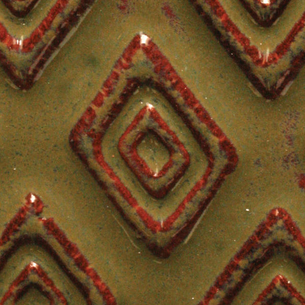 A 32 iron saturate tribal tile chip