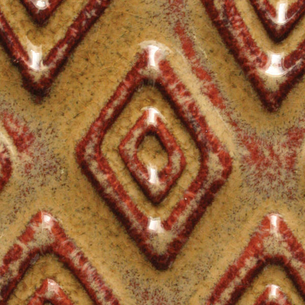 A 62 camel tribal tile chip