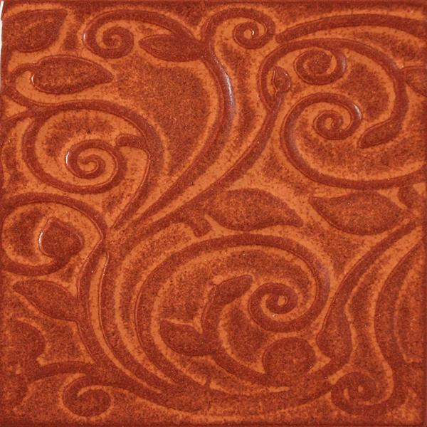 A66 burnt orange vine tile 2048px