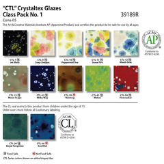 Crystaltex chart class pack no1 39189r 2019