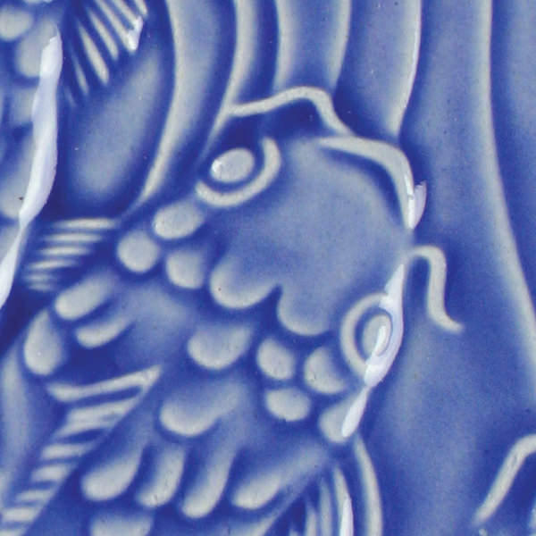Lg 20 medium blue 2x2 fish tile