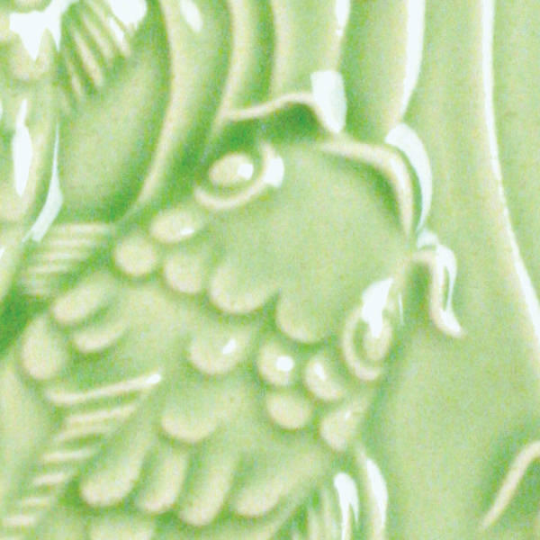 Lg 45 emerald green 2x2 fish tile