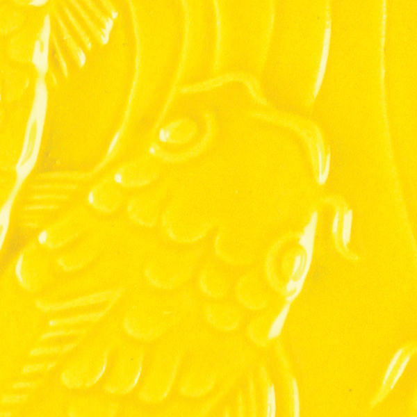 Lg 63 brilliant yellow 2x2 fish tile