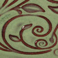 (O) Opalescent > O-42 Moss Green