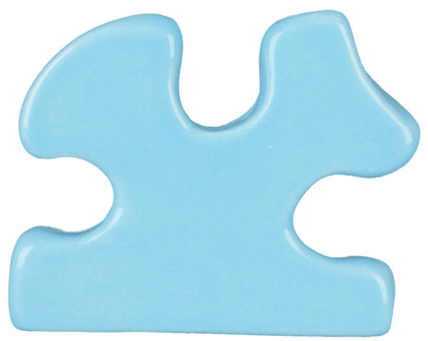 Tp 20 sky blue puzzle cutout