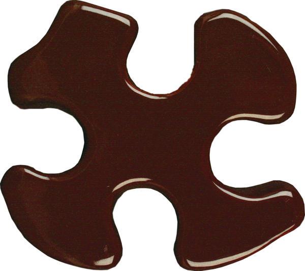 Tp 32 fudge brown puzzle cutout