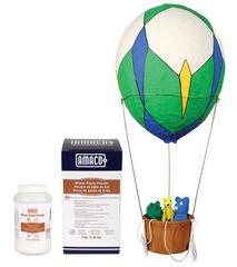 Wheat paste ballon packaging