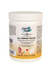 Friendly Plastic Pellets > Friendly Plastic Ivory Pellets 4.4 oz. Resealable Jar