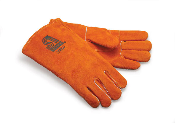 Gloves orange sil