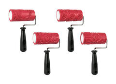 Class Packs > Textured Clay Rollers Class Pack 4 1/4""